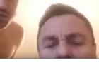 Šios dienos nuotrauka: Petras Gražulis su apsinuoginusiu vyru pasirodė per vaizdo konferenciją