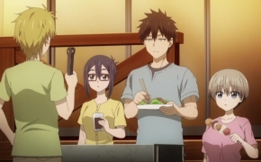 Animacija. Uzaki-chan Wants to Hang Out!