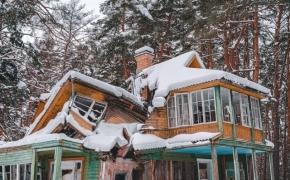Gražiausia griūvanti vila Vilniuje