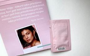 PIRMAS ĮSPŪDIS. KYLIE SKIN by Kylie Jenner Face Moisturizer  – veido drėkiklis visiems odos tipams