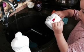Namų ruošos darbai pagal vaiko amžių