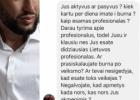 Demaskuok homofobą: Arnas Sinkevičius (Sinkevicius) iš Vilniaus turi nemažai sekso klausimų gėjams