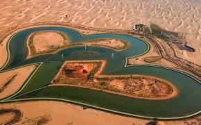 Dubajaus meilės ežeras vilioja įsimylėjelius iš viso pasaulio