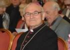 Vyskupas Jonas Kauneckas laimina Didįjį Šeimos gynimo maršą