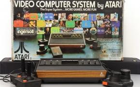 ATARI 2600 kolekcija ir retro nostalgija