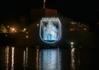 Panevėžyje – plaukiojantis muzikinis fontanas, vienintelis toks Baltijos šalyse