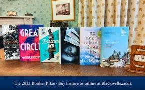 Paskelbtas trumpasis Booker Prize 2021 sąrašas / The 2021 Booker Prize Shortlist