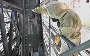 Lyduvėnų geležinkelio tiltas remontuojamas ir bus atvertas lankytojams