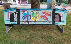 Veviržėnų legenda atgimė meninėje instaliacijoje