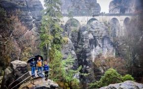 Rytinės Vokietijos stebuklai – Bastei uolos ir tiltas