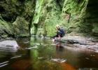 Devil's Pulpit – velniškai gražus tarpeklis Škotijoje