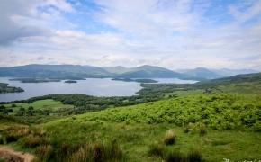 Vaizdinga diena Škotijoje: Loch Lomond, Balmaha ir Conic kalva