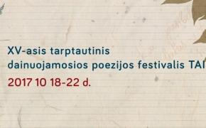 XV Tarptautinis dainuojamosios poezijos festivalis TAI-AŠ