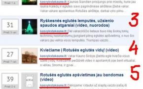 Truputis dizaino + įrašų kategorijos + Kauno eglutė