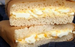 Japoniški sumuštiniai su kiaušiniais | tamago sando