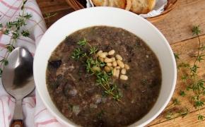 Tiršta grybų sriuba