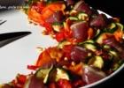 Vytintų daržovių salotos su antiena